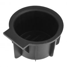 09-14 Ford F150 (w/Flow Through Console) Front Mounted Black Rubber Cup Holder Insert LF = RF (Dorm)