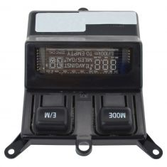 02-07 Ford F250SD, F350SD Overhead Console Mounted Digital Message Display Center (Ford)