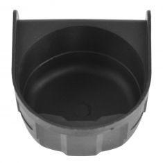 02-06 GM FS SUV; 99-07 Silverado, Sierra Clsc Consle Mtd Blk Ashtray Cup Holder Retainer Insert (GM)