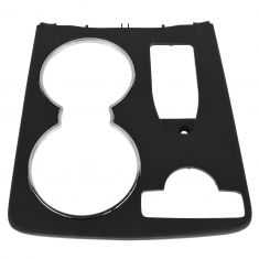 08-14 Mercedes Benz C-Class W204 Console Mounted Black Cup Holder Trim Cover (Mercedes Benz)