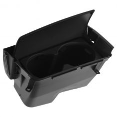 01-04 Volvo S60 Front Center Console Mounted Dual Cupholder Insert/Storage Tray w/Gray Lid (Volvo)