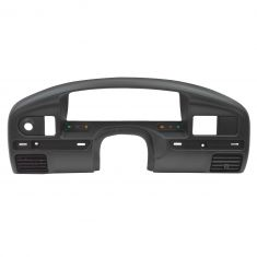 94-97 Ford F250, F350 (w/Diesel Engine) Dash Mounted Black Instrument Cluster Bezel (Ford)