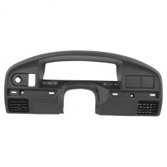 92-93 F150, F250, F350, Bronco (w/4wd & Gas Eng) Black Dashboard Panel Instrument Cluster Bezel (FD)