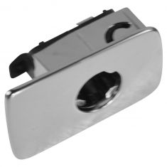 06-10 Jetta Sdn; 06-11 Golf, GTI, Rabbit, R32; 07-11 EOS Aluminum Plated Plstic Glove Box Hndle (VW)