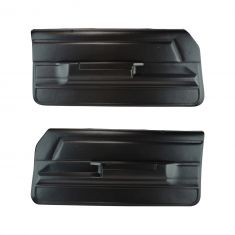 78-88 El Camino Plastic Door Panels Pair