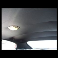 62-65 Chevy Nova Headliner Tier 2 door Black