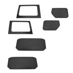 11-15 Jeep Wrangler 4 Door Hard Top Headliner Insulation Kit (6 Piece Set) (Mopar)