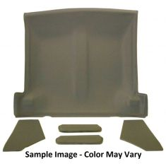 82-92 Camaro,Firebird Cloth Saddle Solid Top Headliner, Sunvisor, Sail Panel Kit
