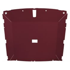 85-88 Mustang Htchbk (Dome Light 23.75 Inch) Cloth Ruby Solid Roof ABS Headliner