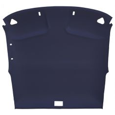94-03 Chevy S10, GMC Sonoma Pickup Extended Cab Cloth Navy Blue ABS Headliner