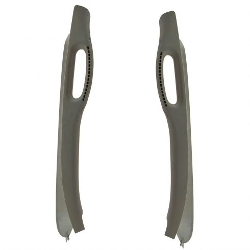 03-05 Dodge Ram 1500, 2500, 3500 Inside (A Pillar) Windshield Trim w/Pull Handle Pair