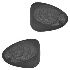 94-04 Ford Mustang Convertible Rear Lower Black Speaker Cover Grille Pair (Ford)