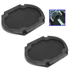 09-14 Ford F150 (w/o Sony Sound System) Front Door Mounted Radio Speaker Pair (Ford)