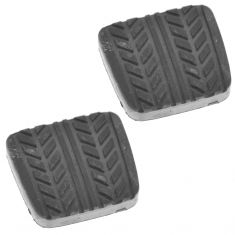 89-97 Probe; 98-03 Escort ZX2; 86-03 Mazda Multifit Brake or Clutch Mld Blk Rbr Pedal Pad Pair(FD)