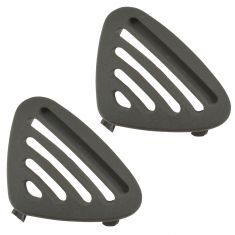 03 Lincoln LS; 04 Thunderbird Dash Mounted Dark Ash Side Defroster Vent Pair(Ford)