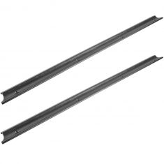 92-11 Ford Ranger (Reg & Super Cab) Front Door Black Sill Scuff Plate Protector Pair (Ford)