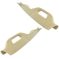 11-16 F250SD-F550SD ~A~ Pillar Mounted Adobe Tan Inside Windshield Trim w/Pull Handle PAIR (Ford)