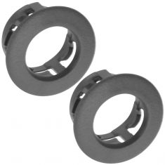 96-98 Skylark; 96-00 Grand Am (w/Manual Mirror) Txt Black Mirror Lever Adjustment Bezel Pair (GM)