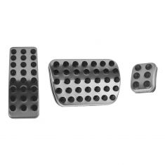 06-14 MB M-Class; 07-14 GL-Class; 06-12 R-Class AMG Style 3 Pedal Pad Cover Set (Mercedes Benz)