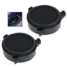 00-04 Durango; 01-04 Dakota Quad Cab (6.5 inch) Front Door Mounted Infinity Speaker PAIR (Mopar)