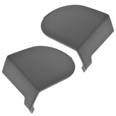 09-12 Jeep Liberty; 10-11 Dodge Nitro Front Seat Belt Slate Gray Anchor Cover Pair(Mopar)