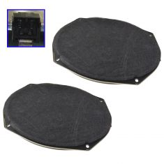 08-15 Chry; 05-15 Dodge, Jeep; 11-14 Ram Multifit Frt or Rear Door Mtd Std 6X9 Speaker Pair (MP)