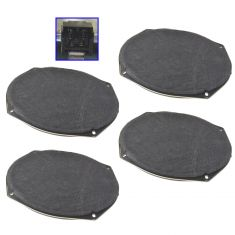 08-15 Chry; 05-15 Dodge, Jeep; 11-14 Ram Multifit Frt or Rear Door Mtd Std 6X9 Speaker Set of 4 (MP)