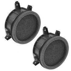 04-05 Dodge Durango, Dakota Front Door Mounted Replacement Speaker Assembly PAIR (Mopar)