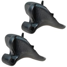 96-06 Chrysler Sebring Convertible Molded Blue Plastic Inner Sun Visor Support Clip Pair (Mopar)
