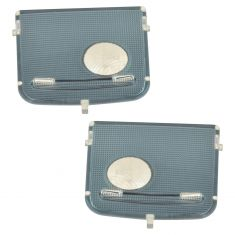 00-06 Toyota Tundra Front Map Light Lens Cover PAIR (Toyota)