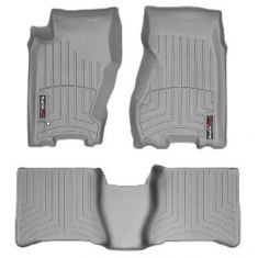 1999-04 Jeep Grand Cherokee Gray Front & Rear Floor Liner Set