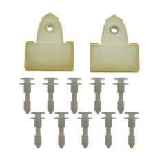 Door Panel Fastener & Guide Set
