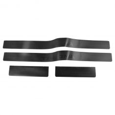 05-15 Tacoma Extended Cab Fr & Rr Dr ~TACOMA~ Logoed Sill Protector Applique Kit (Set of 4) (Toyota)