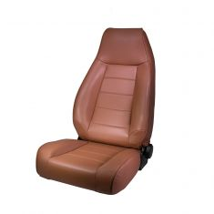 High-Back Front Seat, Reclinable, Spice, 76-02 Jeep CJ and Wrangler