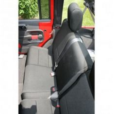 Neoprene Rear Seat Cover, Black, 07-14 Jeep Wrangler Unlimited (JK)