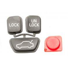98-04 C70; 00-04 S40; 98-00 S70; 00-04 V40; 98-00 V70 4 Buttom Key FOB Insert
