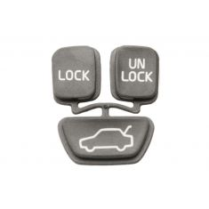 98-04 C70; 00-04 S40; 98-00 S70; 00-04 V40; 98-00 V70 3 Buttom Key FOB Insert