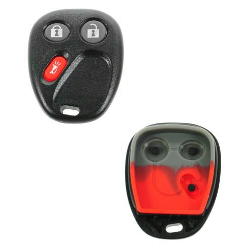 02-07 Vue; 06 Torrent; 03-07 GM PU, SUV (3 But) Keyless Rem Case w/Insert 9ID: LHJ011, MYT3X6898B)