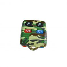 95-13 Ford; 95-12 Lincoln; 95-11 Merc (4 But) FOB Green Camo Keyles Rem Case w/Plastic Insert (Dor)