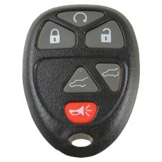 07-12 Escalade, Escalade ESV (w/Pwr Liftgate &Pwr  Liftglass) (6 But) Keyless Remote w/Insert (Dor)
