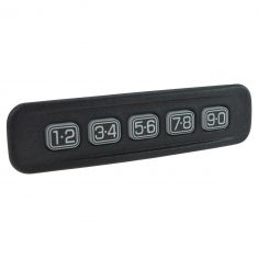 01-12 Ford; 00-11 Lincoln; 01-11 Mercury Multifit Frnt Door Mtd Keyless Entry Number Keypad LF (FD)