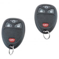 12-13 Silverado, Sierra 1500; 12-14 2500HD, 3500HD (w/RPO: AP8) Remote Start w/Dual Key FOB Kit (GM)