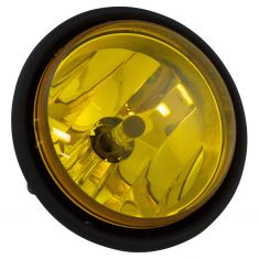 00-10 Freightliner Columbia Fog Driving Light w/Yellow Lens Assembly LH = RH