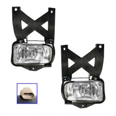 01-04 Ford Escape Fog Light Pair
