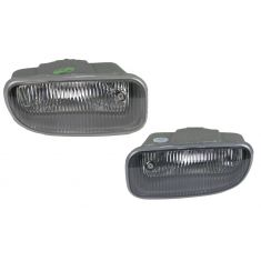 99-03 Jeep Grand Cherokee Fog Light (Tinted Lns) Pair