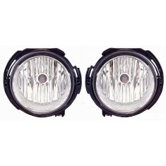 2006-09 Chevy HHR Base Model Fog Light (2nd Design) PAIR