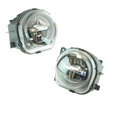 15-16 BMW X3, X4, X5M, X6, X6M; 14-16 X5 Front Bumper Mounted LED Style Fog Driving Light Pair