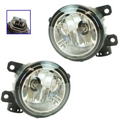 15-17 Jeep Renegade Fog Driving Light LF RF Pair