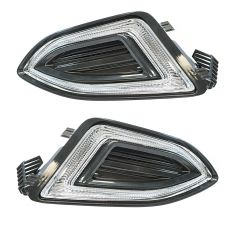 15-16 Ford Edge LED Fog Driving Light LF RF Pair
