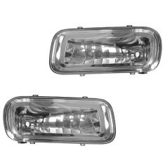 04-05 Ford F150 New Body; 06 Lincln LT (Rectangular Type) Driving Fog Light Lens Pair (Ford)